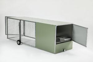 McCallum Made Chicken Tractor Accesses