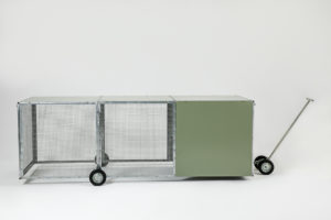 McCallum Made Chicken Tractor Ready to Move