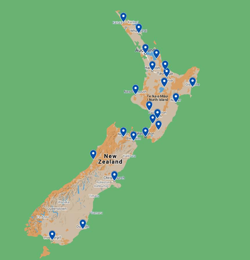 NZ depots